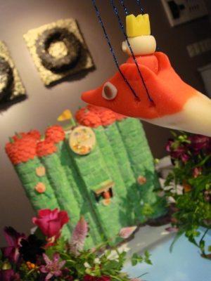 和菓子 と お花